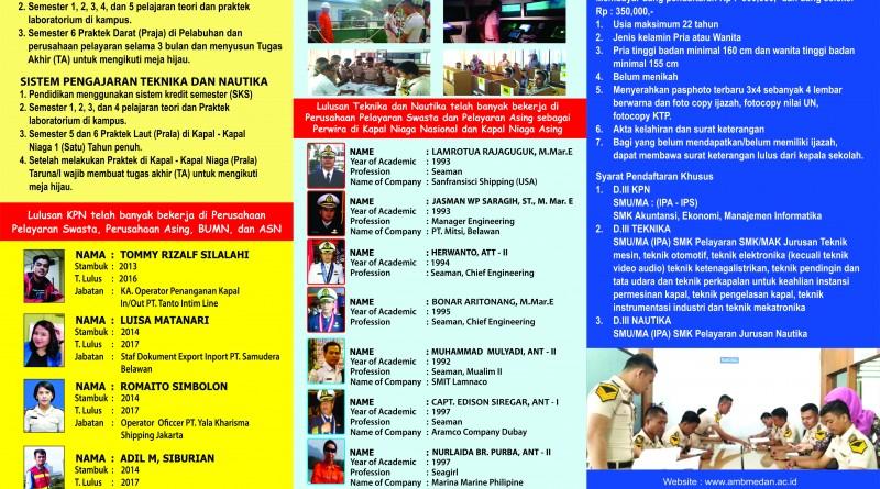 Brosur AMB Medan 1